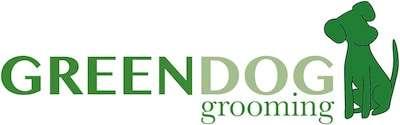 GreenDog Grooming Logo